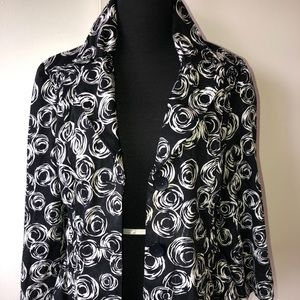 Allison Taylor Abstract Print Boutique Jacket